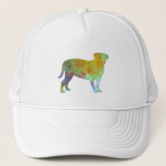 Bulldog of Bordeaux in watercolor Trucker Hat