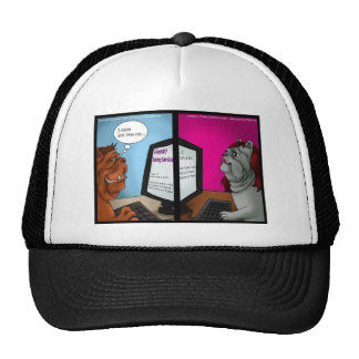 Bulldog Online Dating Funny Gifts Tees & Cards Hats