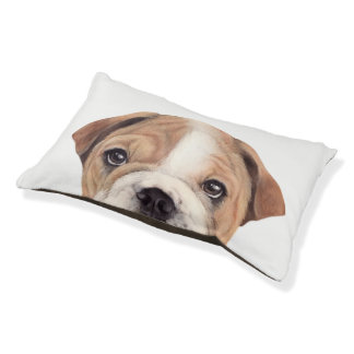 Bulldog pet bed original