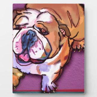 Bulldog Plaque