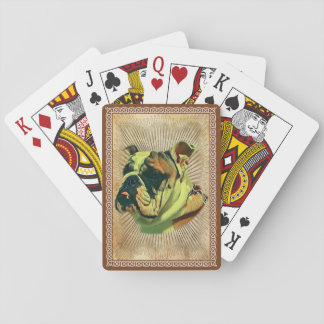 Bulldog Poker Cards : Standard Playing Cards