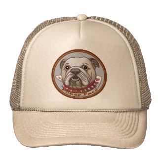 Bulldog Poker Face Trucker Hats