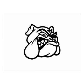 Bulldog Postcard