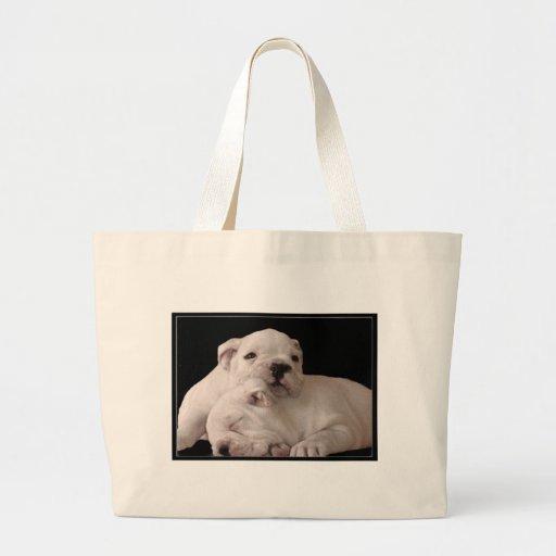 Bulldog Puppies Bag