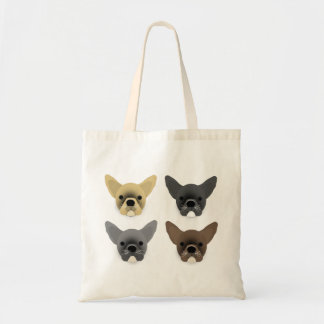 Bulldog Puppies Tote Bag