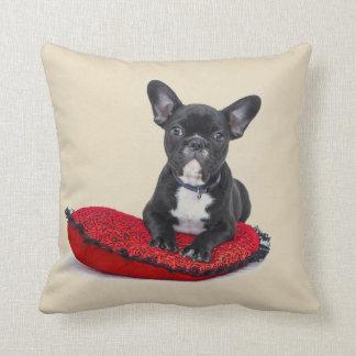 Bulldog Puppy Cushion