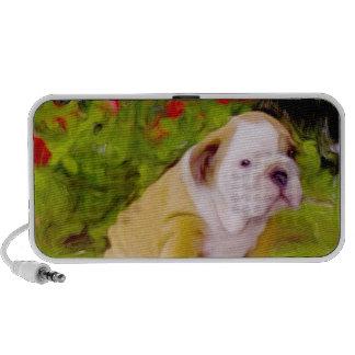 Bulldog puppy doodle speaker