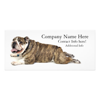 Bulldog Rack Card