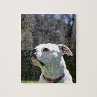 Bulldog Side Puzzle