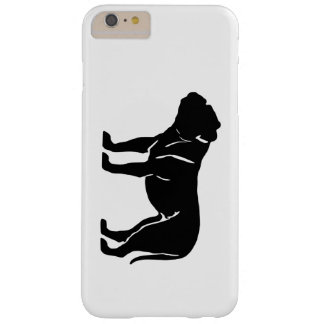 Bulldog Silhouette Dog Barely There iPhone 6 Plus Case