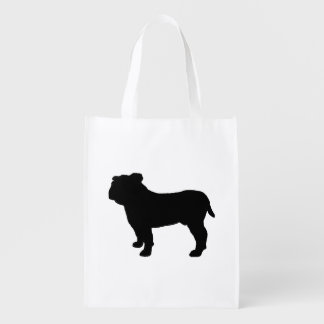 bulldog silo black.png reusable grocery bag