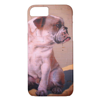 Bulldog street art iPhone 8/7 case