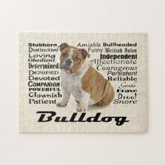 Bulldog Traits Puzzle