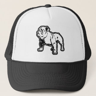 Bulldog Trucker Hat by Mini Brothers