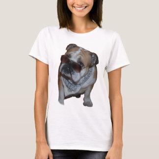 Bulldog with glasses T-Shirt