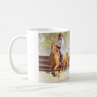 Bulldogging Coffee Mug