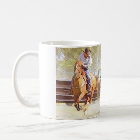 Bulldogging Coffee Mug