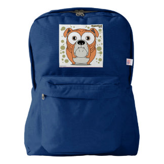 BullDogn Backpack, Navy Backpack