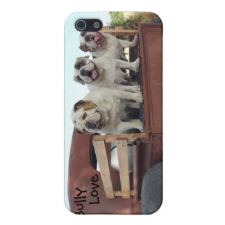 Bulldogs and Rat Rods Bully Love Case Cover For iPhone 5/5S