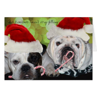 Bulldogs Card