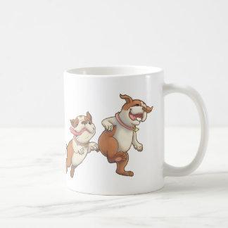 bulldogs horizontal coffee mug