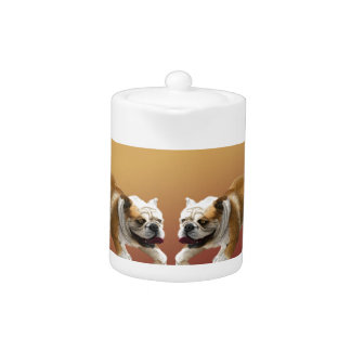 Bulldogs on Asian Design Chinese New Year, Dog