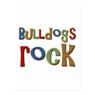 Bulldogs Rock Postcard