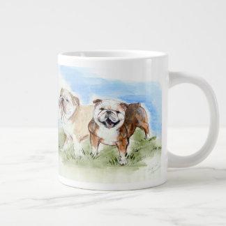 Bulldogs Tough Love Mug
