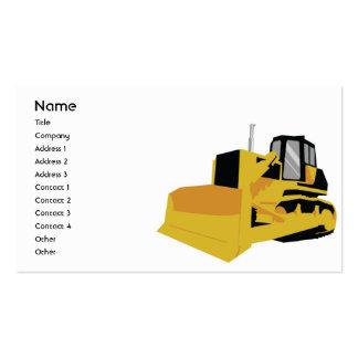 Bulldozer - Business Business Cards
