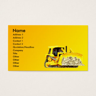 Bulldozer Business Card