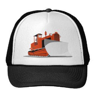 bulldozer construction equipment machinery trucker hats
