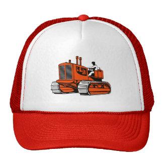 bulldozer construction equipment machinery mesh hats