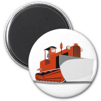 bulldozer construction equipment machinery refrigerator magnets