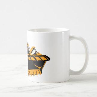 bulldozer construction equipment machinery coffee mugs