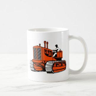 bulldozer construction equipment machinery mug
