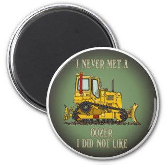 Bulldozer Dozer Operator Quote Magnet