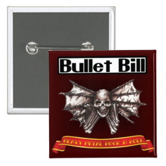 Bullet Bill Skin n Bone Pins