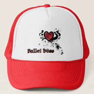 Bullet boss trucker hat