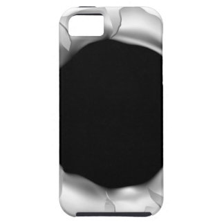 Bullet Hole or Rip Through Background iPhone 5 Case