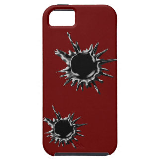 Bullet hole shot iPhone 5 case