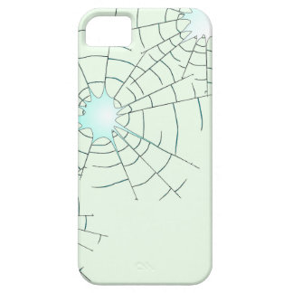 Bullet Holes in Glass Case For The iPhone 5