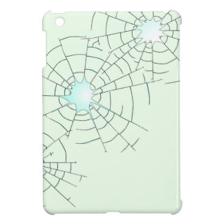 Bullet Holes in Glass iPad Mini Case