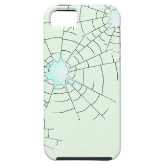 Bullet Holes in Glass iPhone 5 Covers