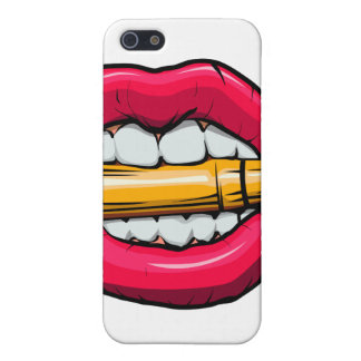 bullet in mouth. iPhone 5/5S case