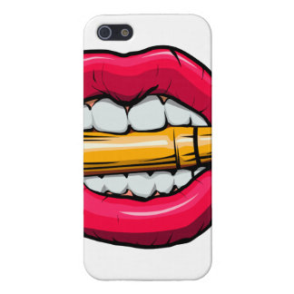 bullet in mouth. iPhone 5 case
