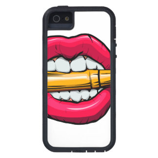 bullet in mouth. iPhone 5 cover