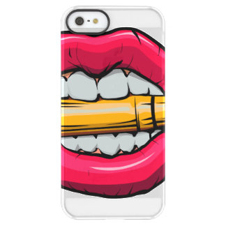 bullet in mouth. permafrost® iPhone SE/5/5s case