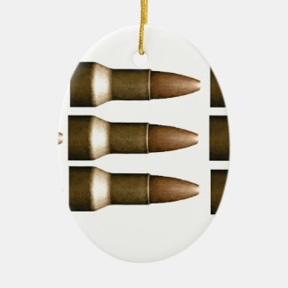 bullet rows yeah ceramic oval decoration