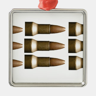 bullet rows yeah Silver-Colored square decoration