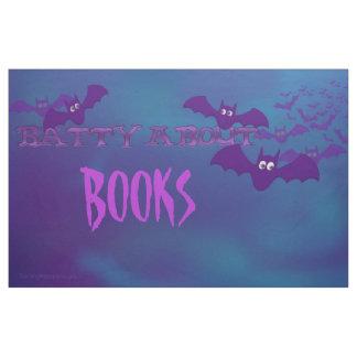 "Bulletin Board ""Batty About Books"" Halloween Theme Fabric"